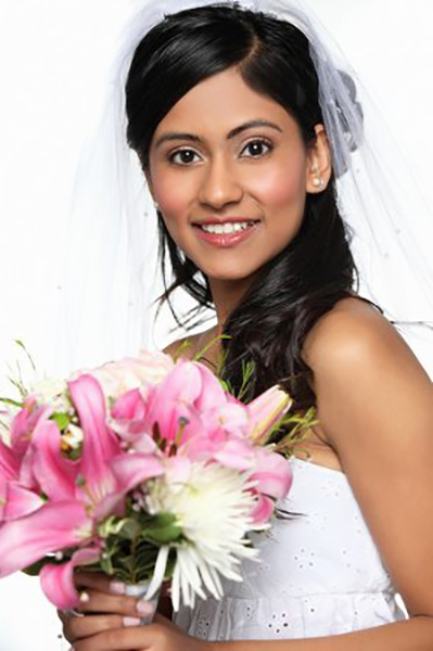 Soft and Natural Wedding Makeup by Amita Galarza Barrington Newport Boston
