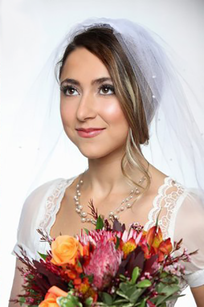 Soft and Pretty Wedding Makeup by Amita Galarza Barrington Newport Providence Boston